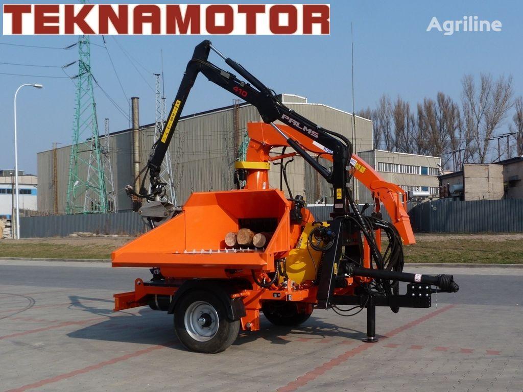 новая дробилка древесины TEKNAMOTOR Skorpion 500 RB