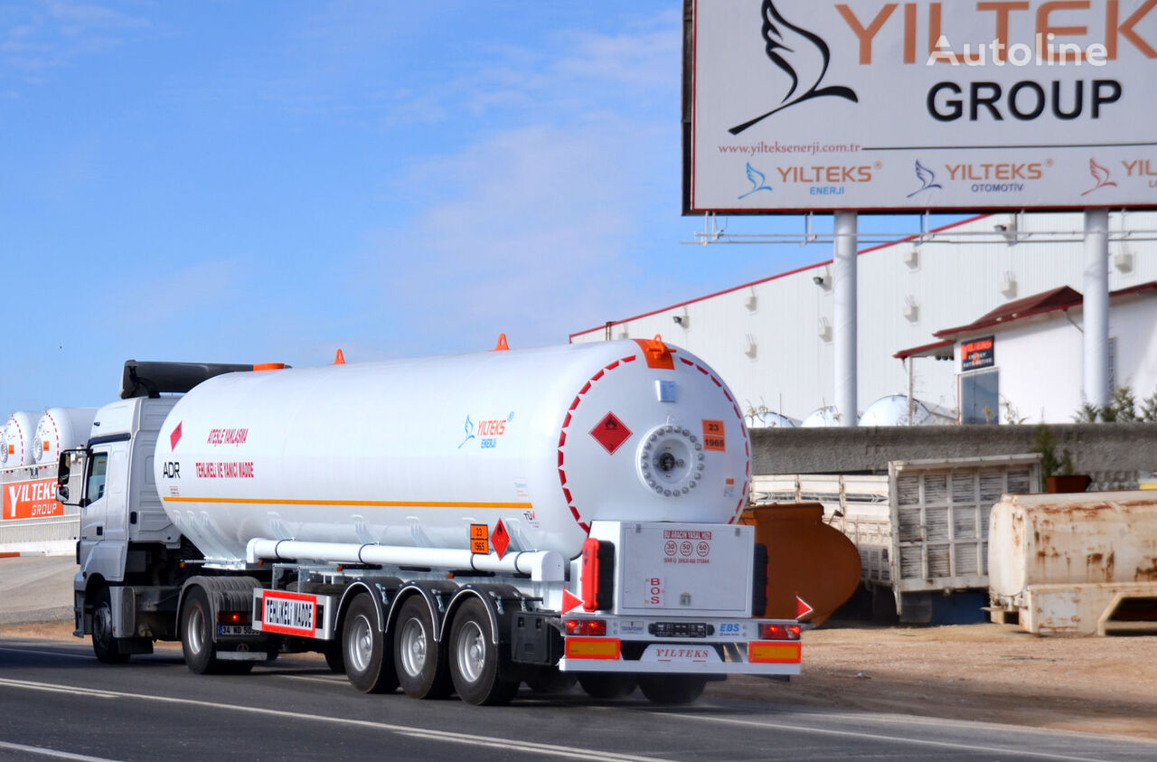 новая газовая цистерна YILTEKS LPG TRAİLER - ADR