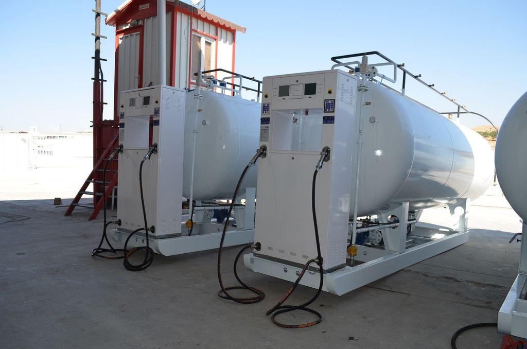 новая газовая цистерна YILTEKS LPG skid Tank