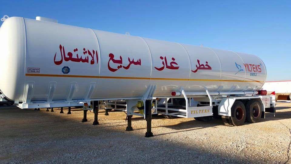 новая газовая цистерна YILTEKS Trailer LPG