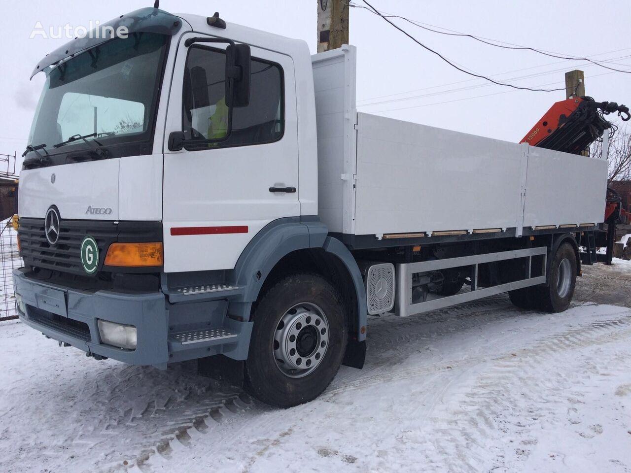 бортовой грузовик MERCEDES-BENZ ATEGO 1828 Palfinger PK 13000