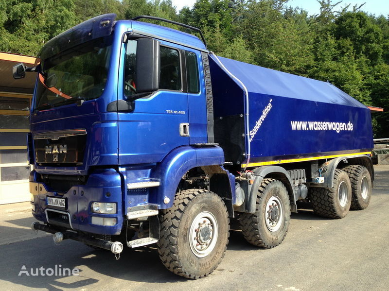 грузовик автоцистерна MAN TGS 41.480