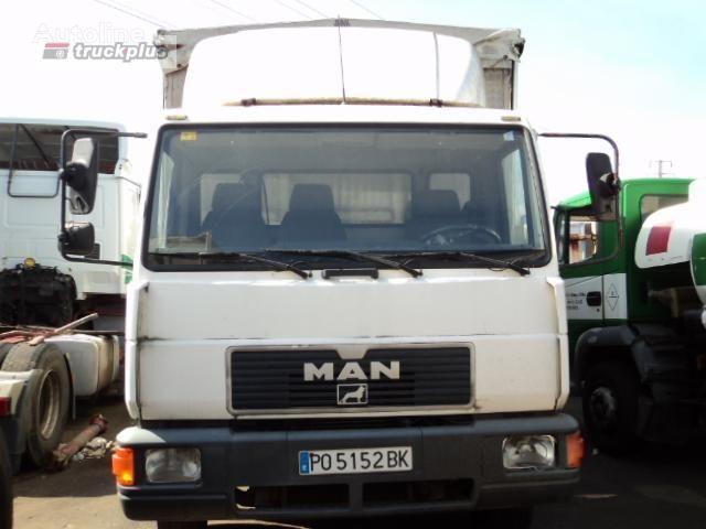 тентованный грузовик MAN 12 .224 LL-K