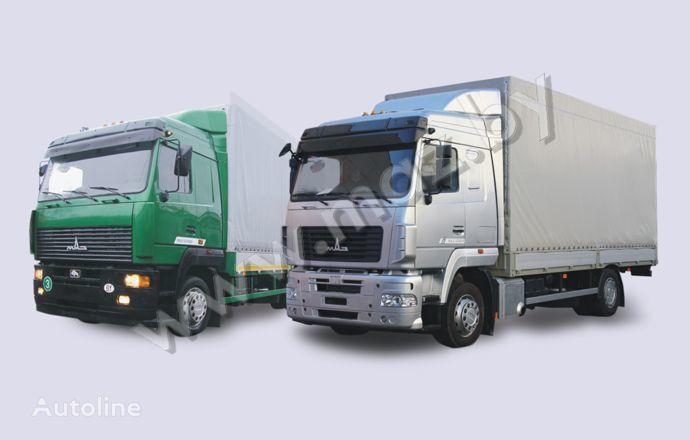 тентованный грузовик МАЗ 5340 (19, E9)
