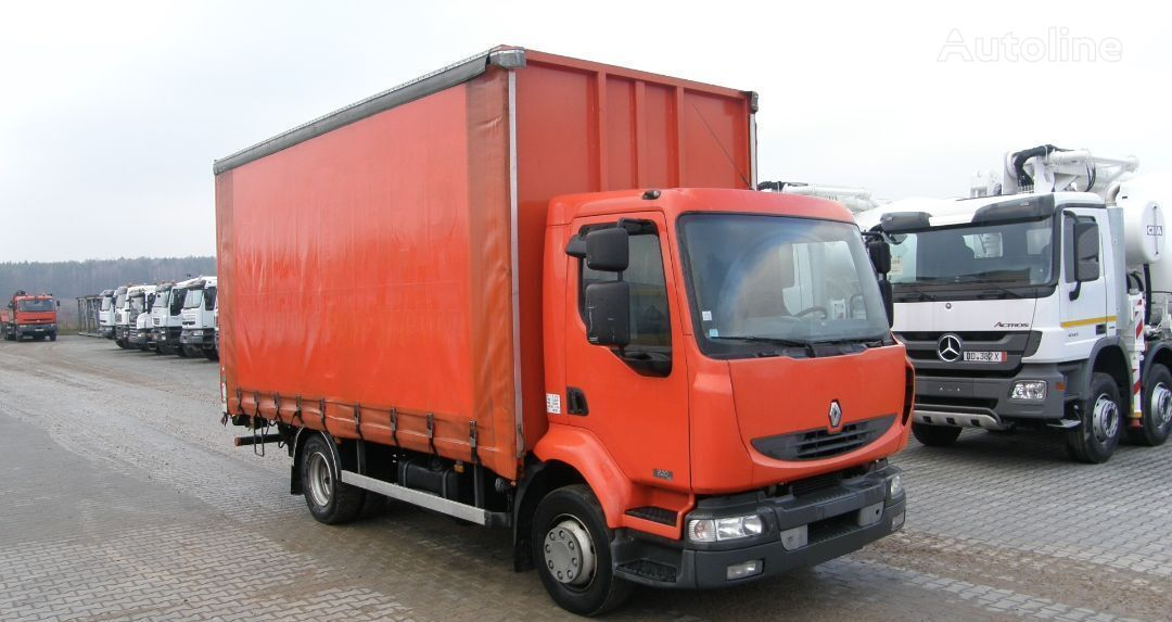 тентованный грузовик RENAULT KERAX 220