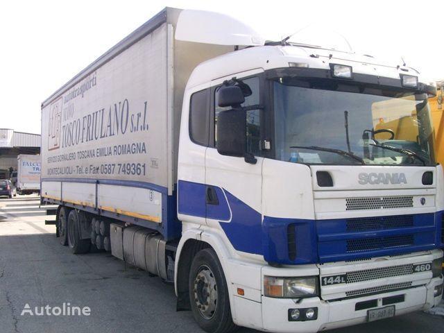 тентованный грузовик SCANIA 144L460