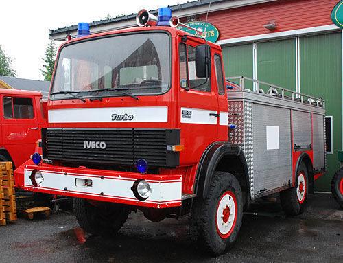 пожарная автоцистерна IVECO 4x4 WD