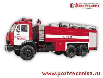 пожарная автоцистерна КАМАЗ АЦ-8,8-50
