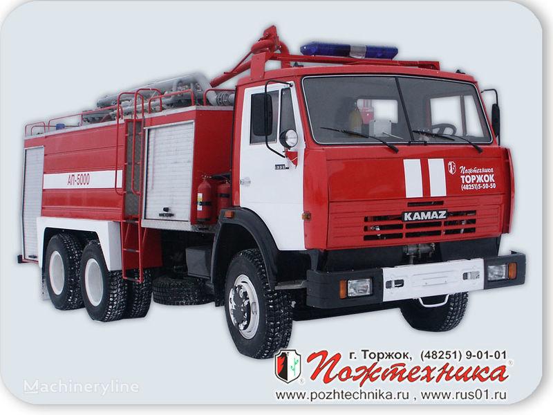 пожарная автоцистерна КАМАЗ АП-5000 Автомобиль порошкового тушения