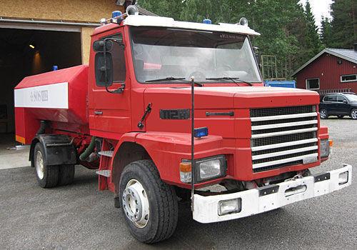 пожарная автоцистерна SCANIA T-112H