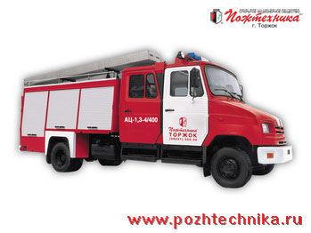 пожарная автоцистерна ЗИЛ  АЦ-1,3-4/400