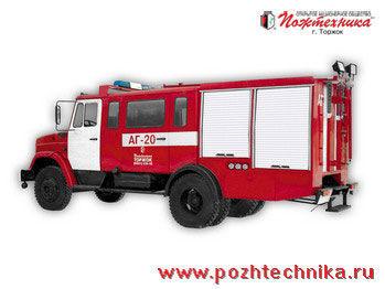 пожарная автоцистерна ЗИЛ  АГ-20 Автомобиль газодымозащитной службы