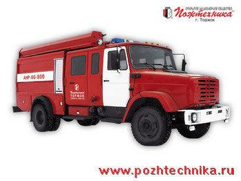 пожарная автоцистерна ЗИЛ АНР-60-800 Автомобиль насосно-рукавный