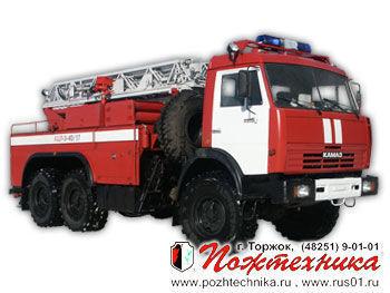 пожарная автолестница КАМАЗ АЦЛ-3-40/17