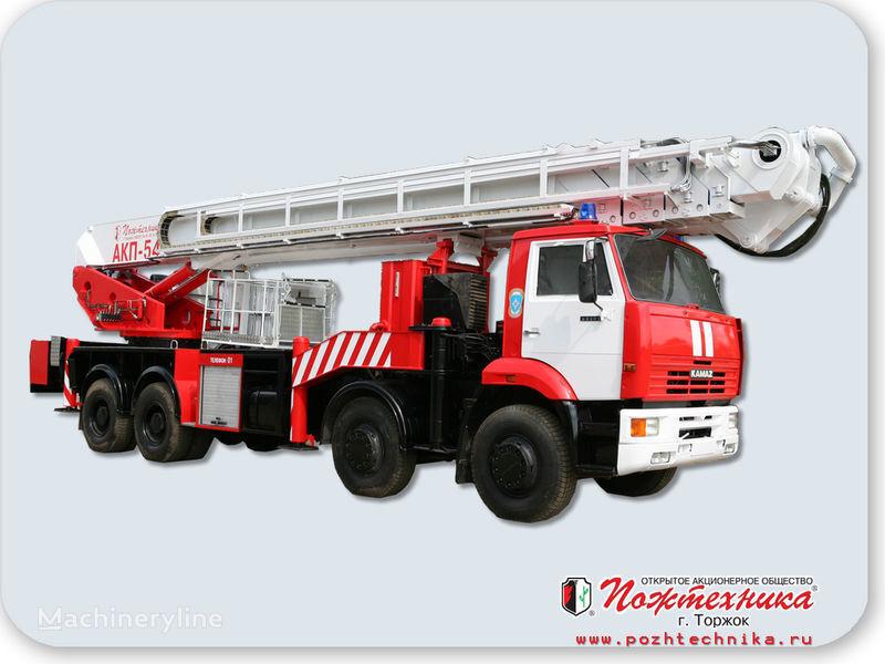 пожарная автолестница КАМАЗ АКП-54