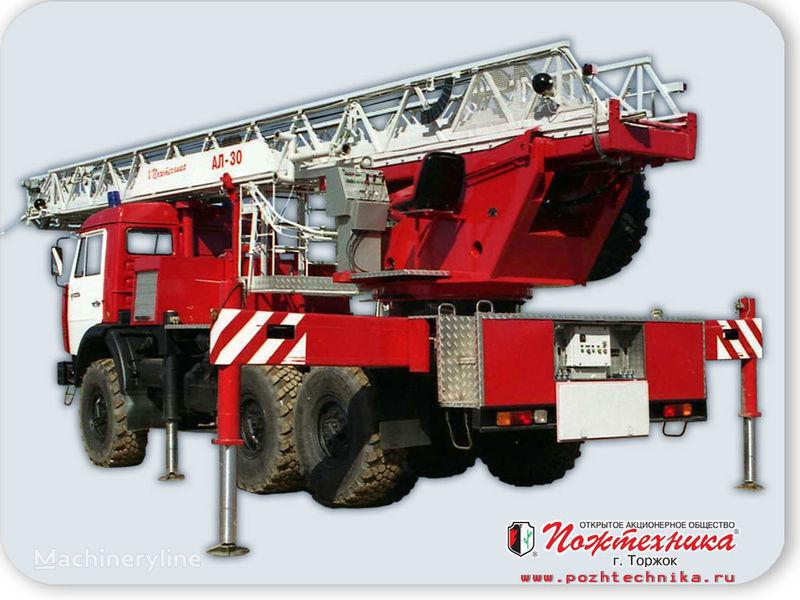 пожарная автолестница КАМАЗ АЛ-30