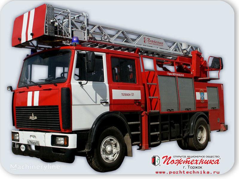 пожарная автолестница МАЗ АПС(Л)-1,25-0,8 Автомобиль пожарно-спасательный с лестницей