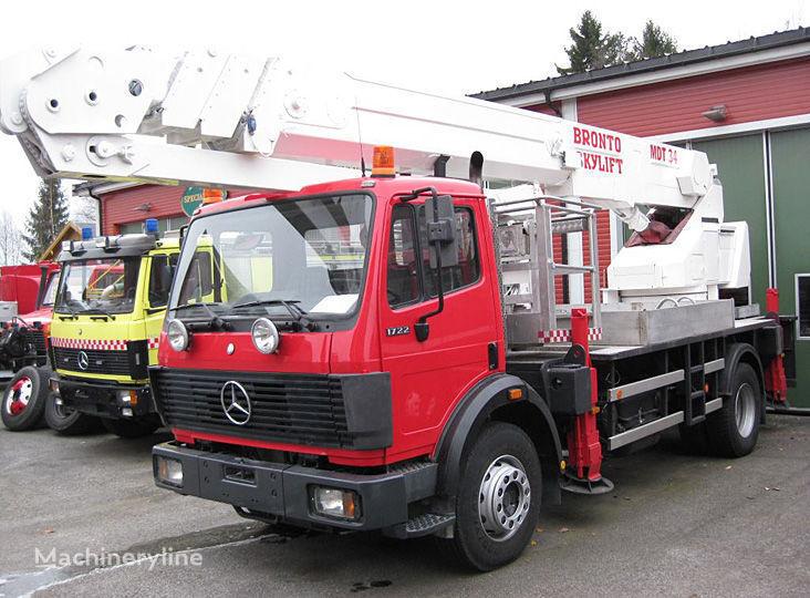пожарная автолестница MERCEDES-BENZ 1722 4X2WD