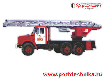 пожарная автолестница ЗИЛ АЛ-30