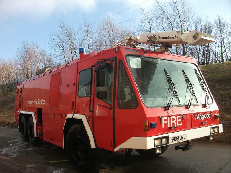 пожарная машина Angloco / KRONENBURG 6X6