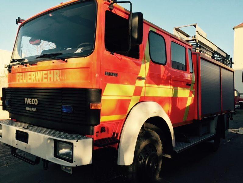 пожарная машина IVECO HLF Typ 120-25 4x4