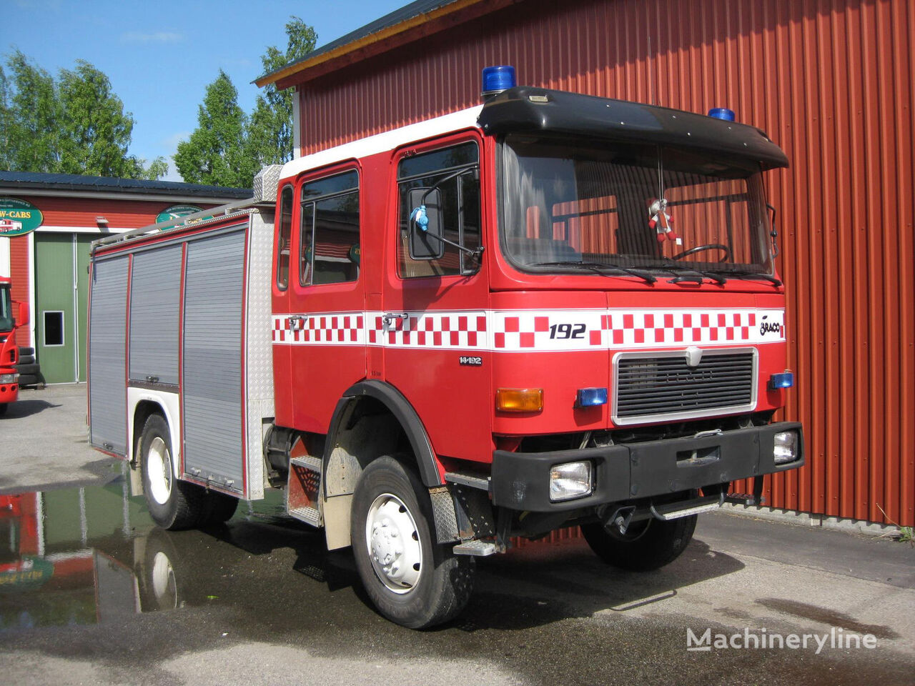 пожарная машина MAN 14-192, 4x4 WD