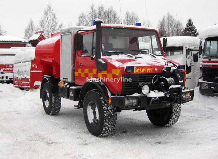 пожарная машина MERCEDES-BENZ Unimog U-1300 4x4 WD