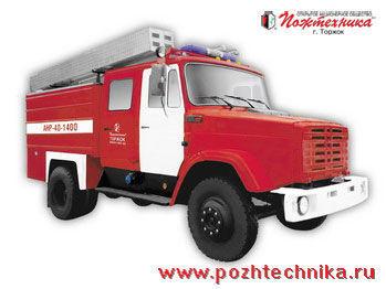 пожарная машина ЗИЛ АНР-40-1400 Автомобиль насосно-рукавный