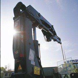 новый кран-манипулятор HIAB XS 322