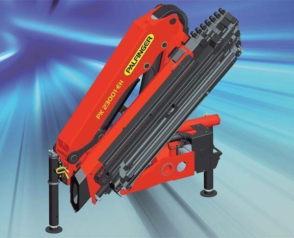 новый кран-манипулятор PALFINGER PK 23001-EH High Perfomance