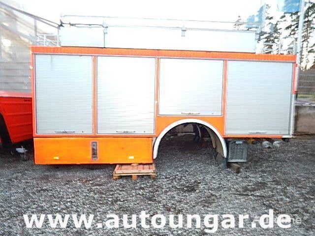 кузов-фургон MERCEDES-BENZ Schlingmann Feuerwehr Aufbau m Rosenbauer Pumpe 24/8