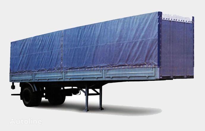 новый бортовой полуприцеп МАЗ 938020