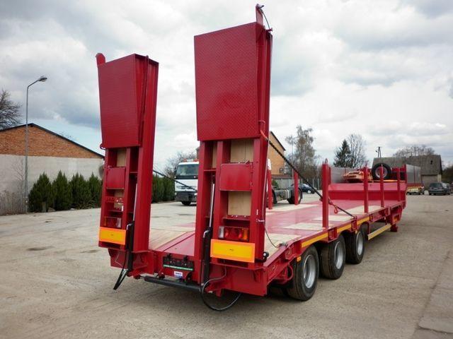новый полуприцеп низкорамная платформа JANMIL  WABCO with ramps 30000 kg