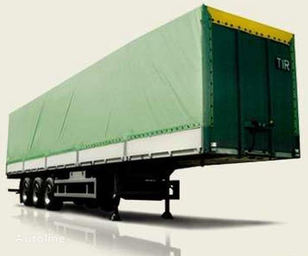 новый полуприцеп платформа МАЗ 975800