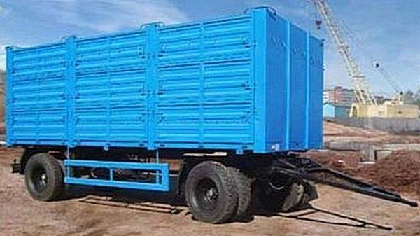 новый бортовой прицеп КАМАЗ СЗАП-8357-02/030