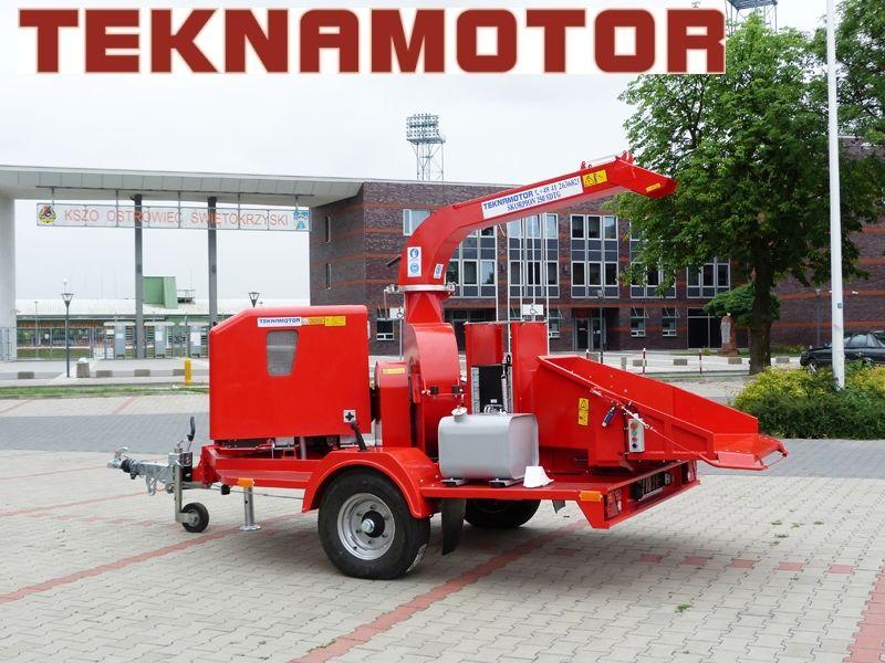 новая дробилка древесины TEKNAMOTOR Skorpion 250 SDT/G
