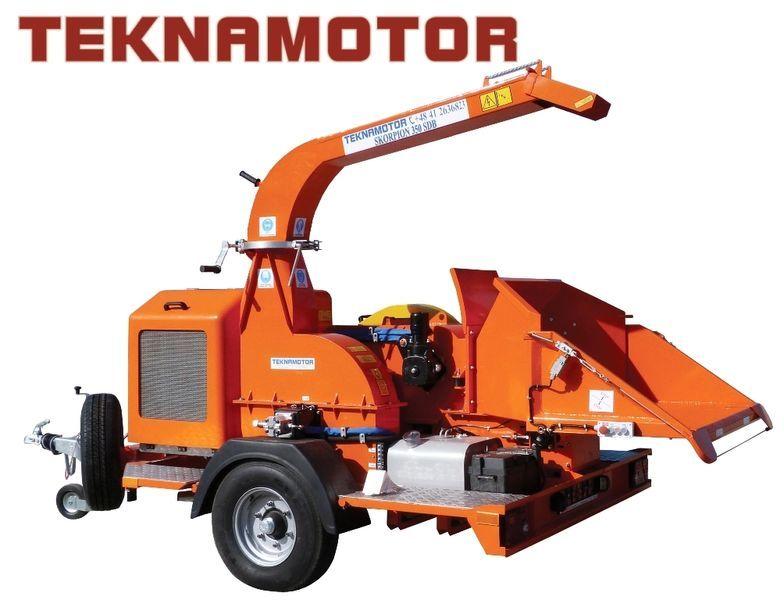 новая дробилка древесины TEKNAMOTOR Skorpion 350 SDB