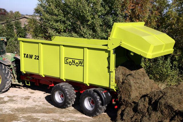 новый прицеп тракторный CONOW TAW 22