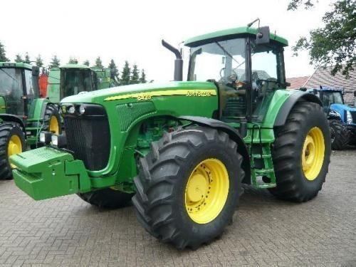 трактор колесный JOHN DEERE 8420