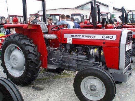 новый трактор колесный MASSEY FERGUSON 240