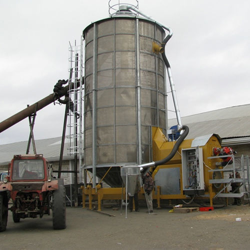 зерносушилка Мобильная зерносушилка MECMAR F 75/570F