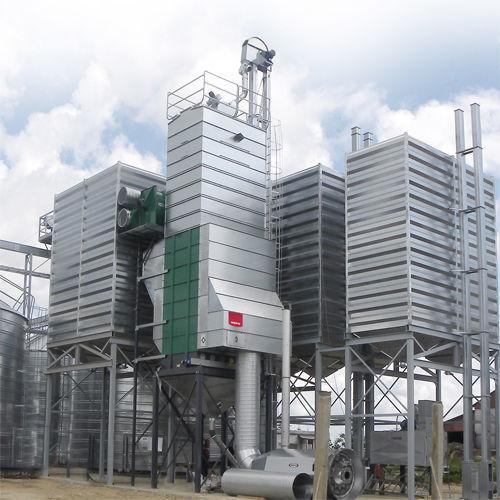 новая зерносушилка Стационарные вакуумные зерносушилки MEPU серии DCR
