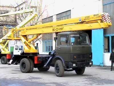 автовышка КАМАЗ ВС—22-01