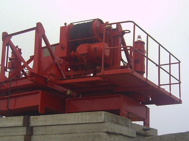башенный кран POTAIN pingon GP 4010 con base, opcion cabina