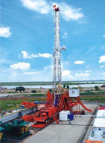 новая буровая установка ZYT Petroleum ZJ40