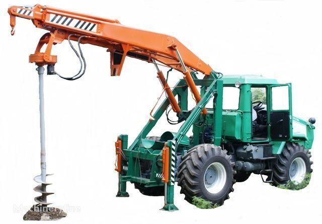 другая спецтехника ХТЗ Бурильно-крановая машина БКМ-3У на базе тракторов ХТЗ 150К-09, Х