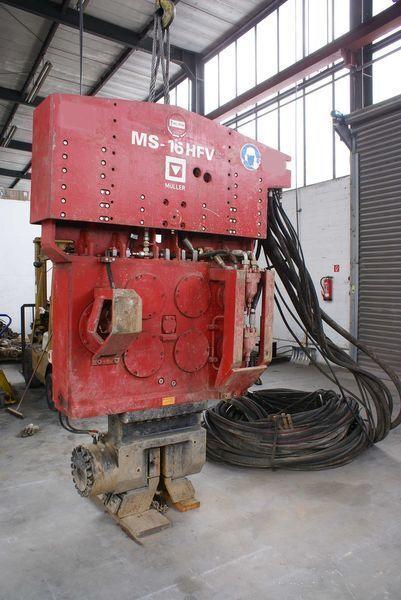 другая спецтехника Вибропогружатель Muller M16HFV и Power pack MS-A260