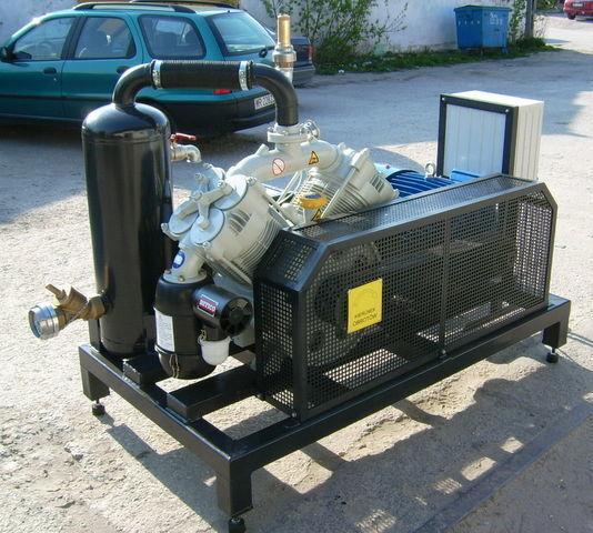 компрессор SB1 BETICO z silnikiem elektrycznym