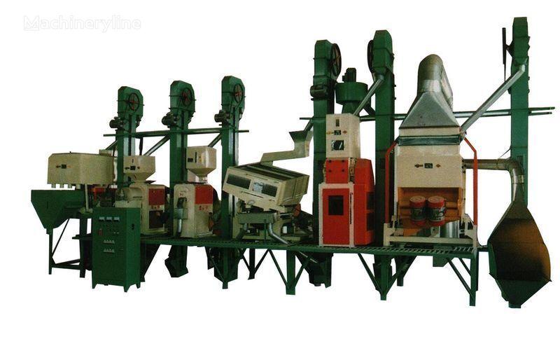 новая промышленное оборудование Рисовый завод Китай 18 - 150 тонн в сутки