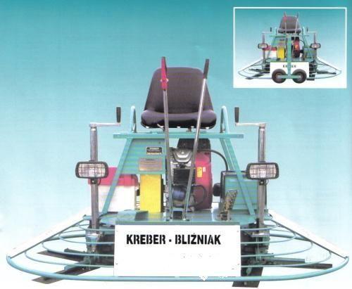 новая затирочная машина KREBER K-436-2-T Blizniak